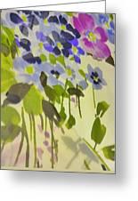 Floral Vines Greeting Card
