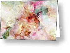 Floral Wings - Abstract Art Greeting Card by Jaison Cianelli