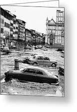 Florence: Flood, 1966 Greeting Card