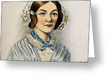 Florence Nightingale, Nurse Greeting Card