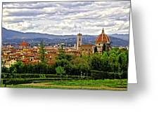 Florence Skyline Greeting Card