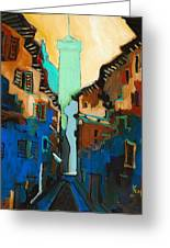 Florence Street Study Greeting Card