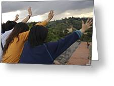 Florence, Tuscany, Italy, Small Group Greeting Card