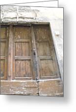 Florentine Door 4 Greeting Card
