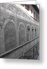 Florentine Stone Graffiti 2 Greeting Card