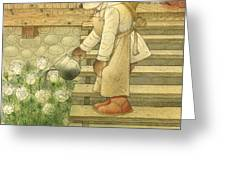 Florentius The Gardener Greeting Card