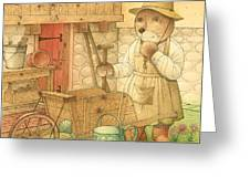 Florentius The Gardener02 Greeting Card