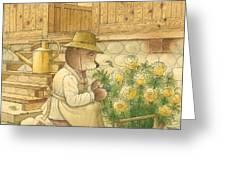 Florentius The Gardener04 Greeting Card