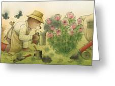 Florentius The Gardener11 Greeting Card