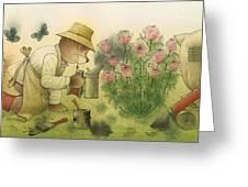 Florentius The Gardener11 Greeting Card