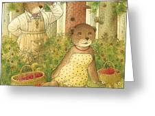 Florentius The Gardener12 Greeting Card