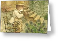 Florentius The Gardener20 Greeting Card