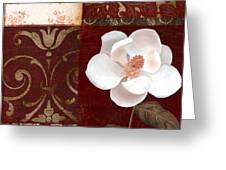 Flores Blancas Square I Greeting Card