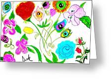 Flores De Primavera  Greeting Card
