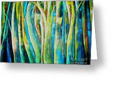 Floresta Verde  Greeting Card