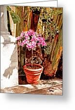 Floret Nouveau Greeting Card