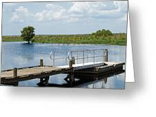 Florida Backwater Greeting Card