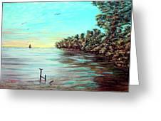 Florida Bay's Elliot Key Greeting Card