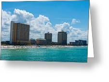 Florida Beach Panama City Greeting Card