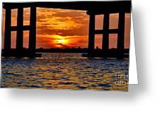 Florida Before Sunset  Greeting Card