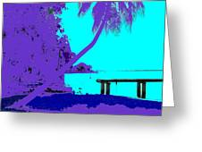 Florida Blues Greeting Card