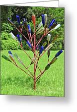 Florida Bottle Tree Greeting Card