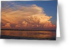 Florida Cloudscape Greeting Card