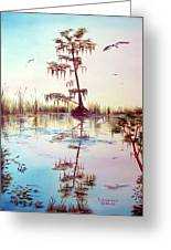 Florida Everglades Study # 1 Greeting Card