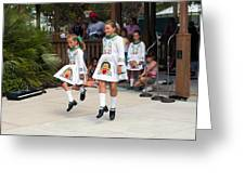 Florida Irish Dancers Greeting Card
