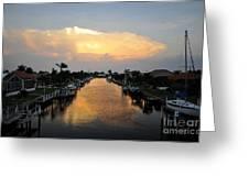 Florida Life Style Greeting Card