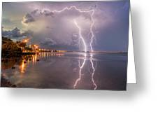 Florida Lightning Greeting Card