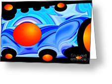 Florida Oranges Greeting Card