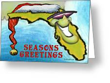 Florida Seasons Greetings Greeting Card