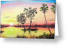 Florida Splendor Greeting Card