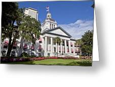 Florida State Capitol Building Greeting Card