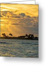 Florida Sunset-3 Greeting Card