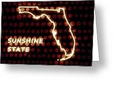 Florida - The Sunshine State Greeting Card