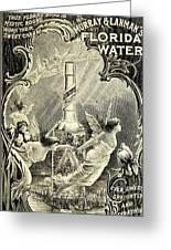 Florida Water Greeting Card