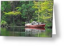 Floridian Fall Greeting Card