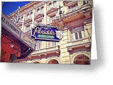 Floridita - Havana Cuba Greeting Card