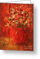 Florists Red Greeting Card