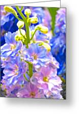 Flowers 40 Greeting Card