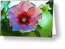 Flower 8-15-09 Greeting Card