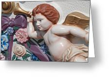 Flower Angel Greeting Card