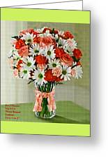 Flower Bouquet Creations Catus 1 No. 1 Greeting Card