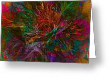 Flower Candy Greeting Card