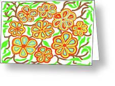 Flower Carnival Greeting Card