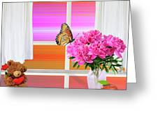 Flower Color Greeting Card