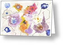 Flower Connection Greeting Card