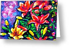 Flower Culture 297 Greeting Card